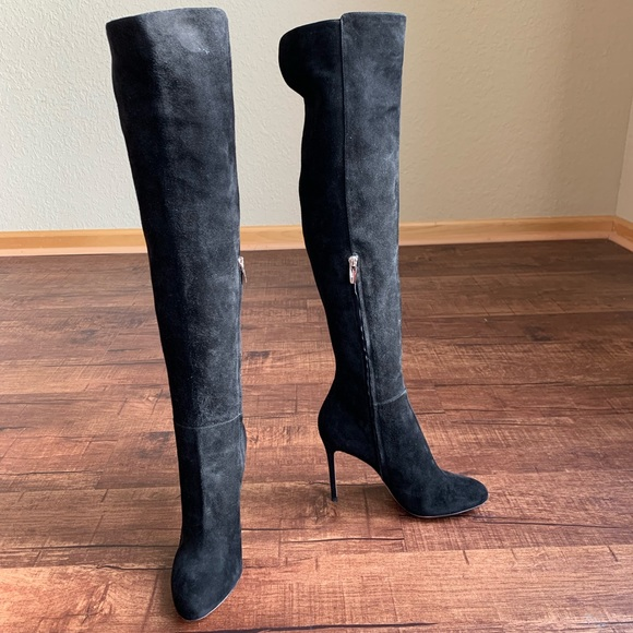 Gianvito Rossi stilettos heel over the knee boots NWT